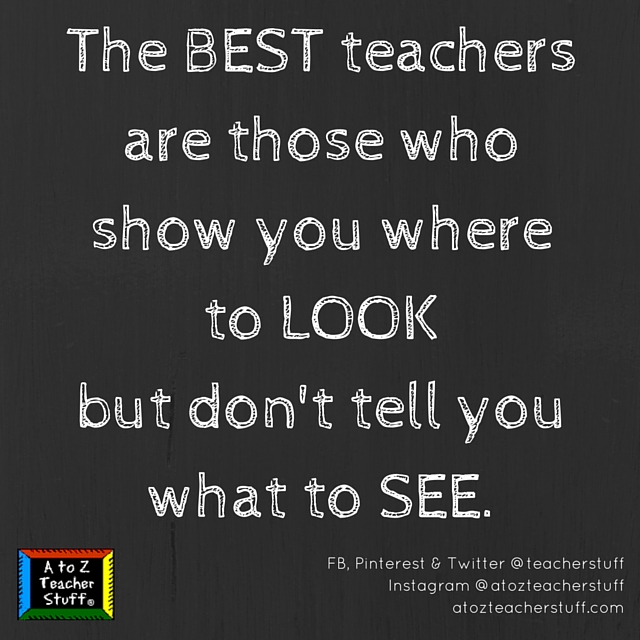 The best teachers are those who show you